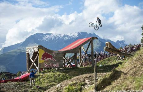 Crankworx Les 2 Alpes Slopestlye Photo: Nico Joly