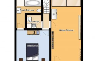 Chalet Cofis Ground Floor Plan