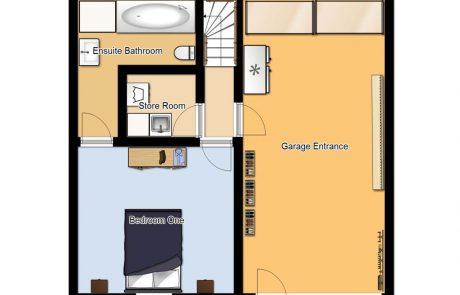 Chalet Cofis Ground Floor Plan