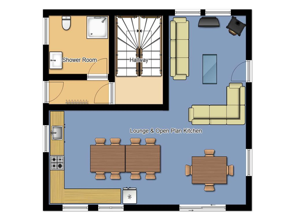 Chalet cofis self catering les gets rushadventures for Chalet flooring