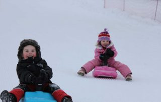 Toboggan Fun in Les Gets
