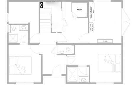 Chalet Fram Floor Plan Ground Floor