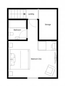 Chalet Fram Top Floor Plan