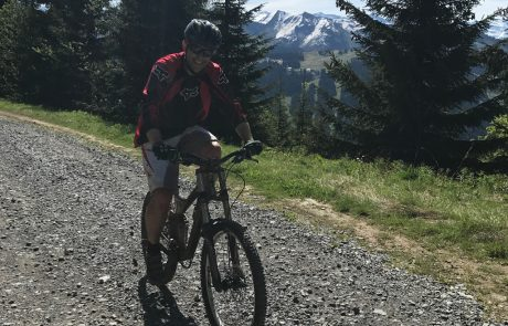 May Mountain Biking in Les Gets