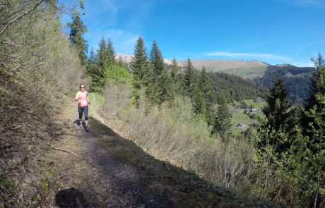 Trail Running in the French Alps
