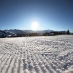Groomed Pistes in Les Gets