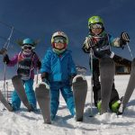 Skiing Kids